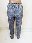 Спортивные штаны теплые трехнитка на флисе р.46.Цвет синий.От  2 шт по 107грн, фото 4