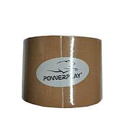 Кінезіологічний тейп PowerPlay 4315 Бежевий