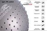 М'яч для фітнесу PowerPlay 4003 65 см Сірий, фото 3