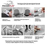 М'яч для фітнесу PowerPlay 4003 65 см Сірий, фото 8