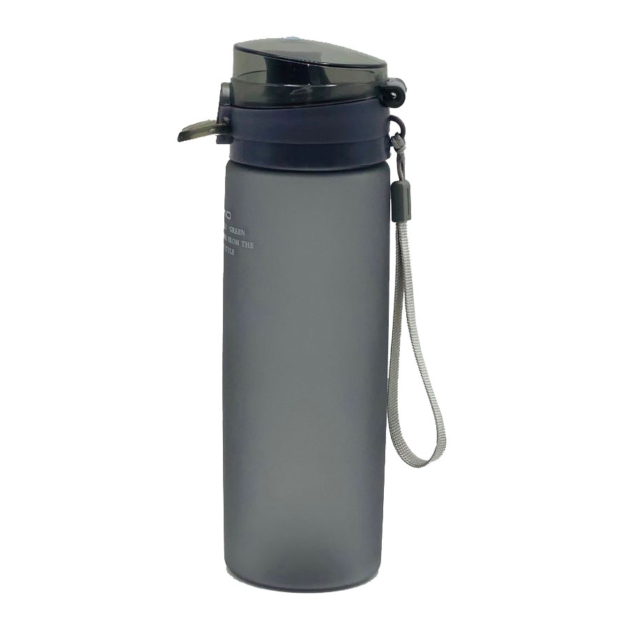 Пляшка для води CASNO 650 мл KXN-1157 Сіра