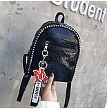 Стильный мини рюкзак, фото 3