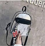 Стильный мини рюкзак, фото 5