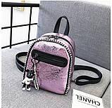 Стильный мини рюкзак, фото 6
