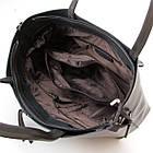 Сумка кожаная женская Alex Rai grey, фото 4