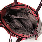 Сумка кожаная женская Alex Rai wine-red, фото 4
