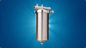 Магистральный универсальный бытовой фильтр Гейзер Тайфун 10 ВВ (картридж в комплекте)
