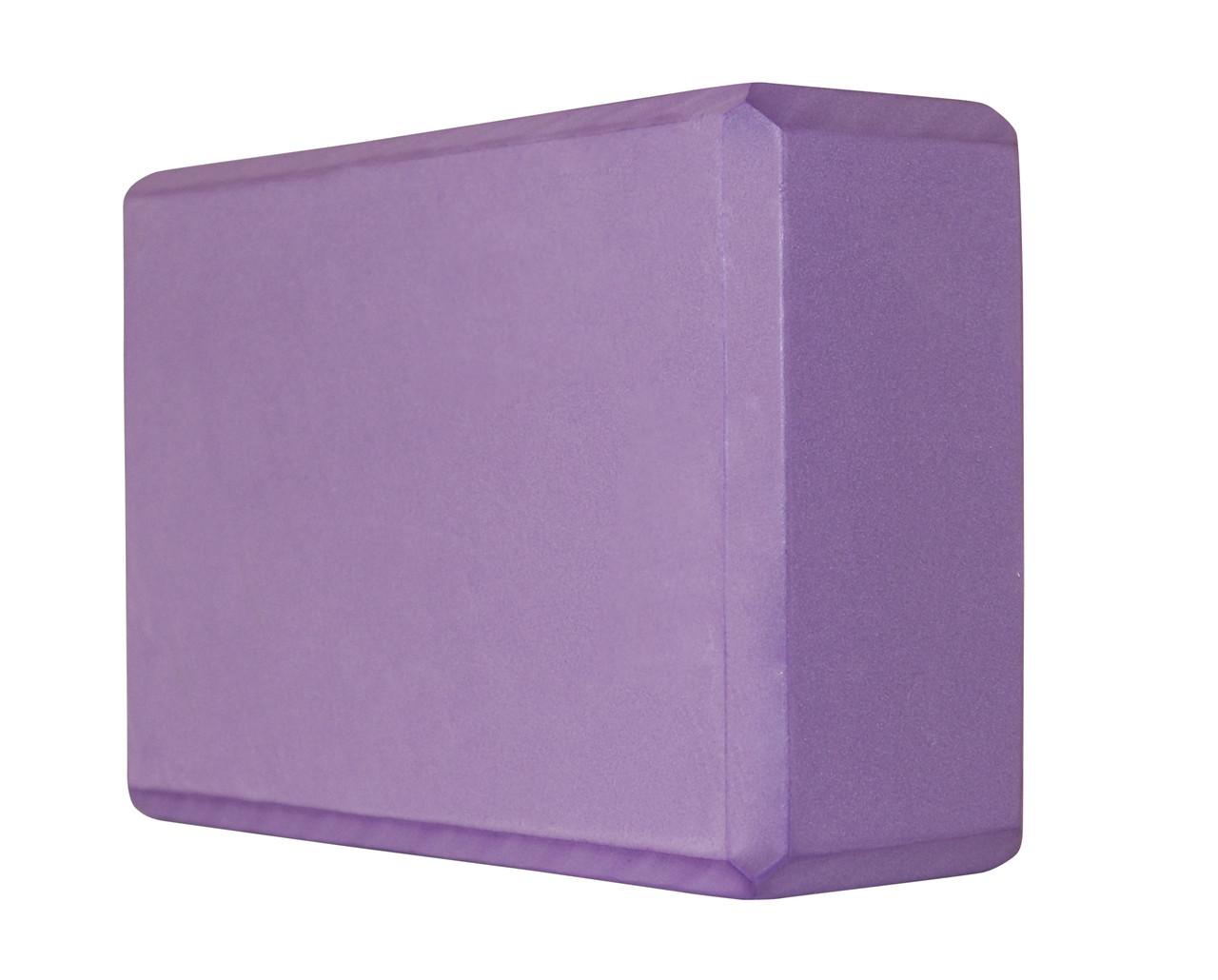Блок для йоги SportVida SV-HK0174 Violet