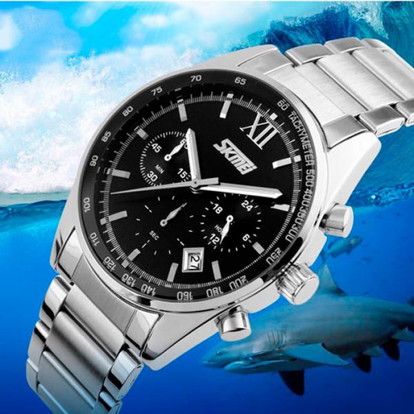 Чоловічі годинники Skmei Tandem 9096