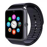 UWatch Розумні годинник Smart GT08 Black, фото 2