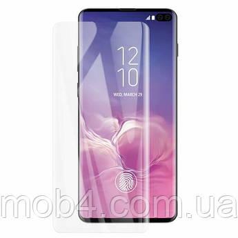 Прозоре захисне скло Full Glue + Lamp для Samsung (Самсунг) S10 plus