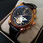 Orkina Чоловічі годинники Orkina DeLuxe Black, фото 5