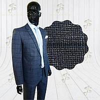 Костюм мужской классический серый в клетку Odeon 2, фото 1