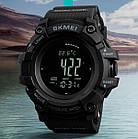 Мужские часы Skmei Processor с шагомером и барометром, фото 4