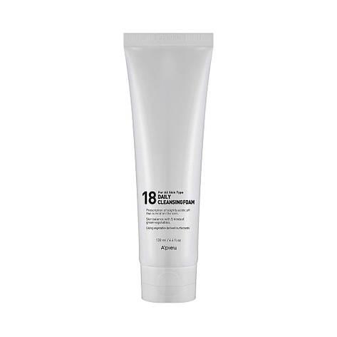 """Ежедневная пенка для умывания молодой кожи лица APieu 18 Daily Cleansing Foam"""", фото 2"""