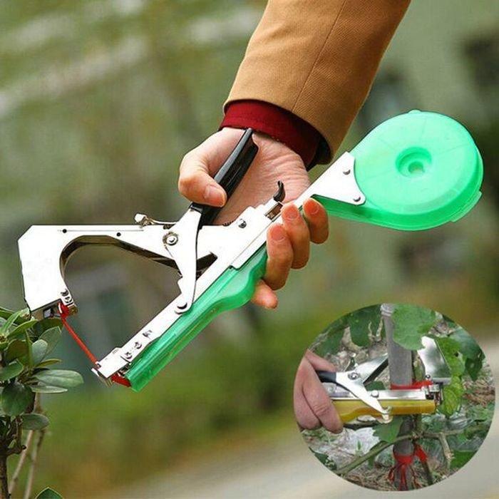 Степлер для подвязки растений Tape Tool для обвязки винограда помидоров огурцов деревьев цветов
