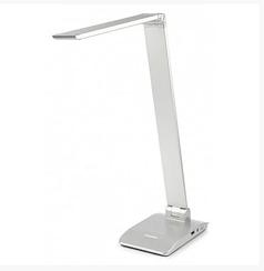Настольная лампа светодиодная Tiross TS-1810 7W 48led 3 режима света Silver