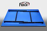 """Теннисный стол для помещений """"Феникс"""" Basic M16 синего цвета, фото 6"""