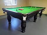 Бильярдный стол Ферзь снукер 12 футов Ардезия 3.6 м х 1.8 м из натурального дерева, фото 6