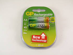 Аккумулятор GP NiMH AA (HR6) 2100mAh 1,2V