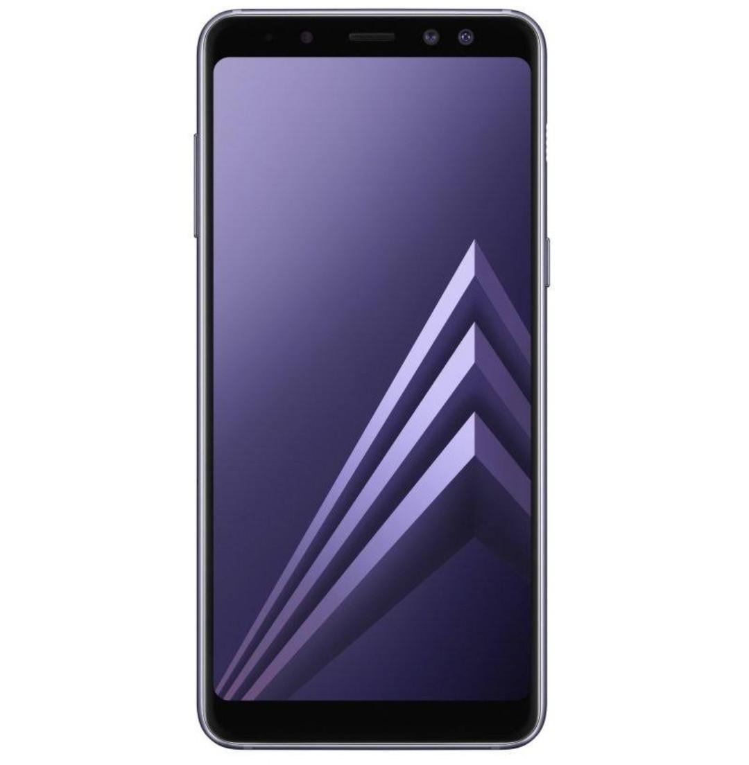 Смартфон Samsung Galaxy A8+ 2018 4/64GB Orchid Grey
