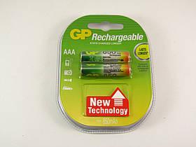 Аккумулятор GP NiMH AAA (HR03) 850mAh 1,2V