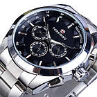 Чоловічі годинники Forsining Walker Steel, фото 2