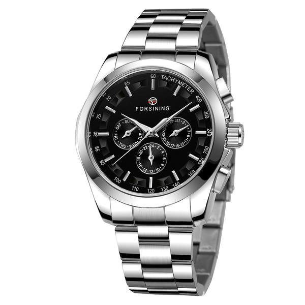 Чоловічі годинники Forsining Walker Steel