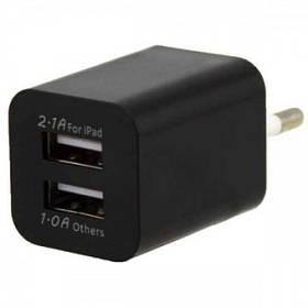 Сетевой адаптер питания AR-2100 на 2 USB выхода