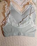 ТП802 Нежный женский топ на чашку А/В, фото 5