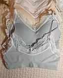 ТП802 Нежный женский топ на чашку А/В, фото 4