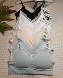 ТП802 Нежный женский топ на чашку А/В, фото 3