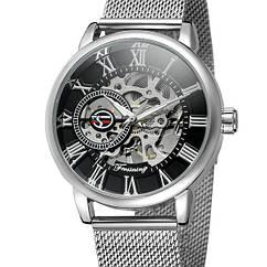 Мужские часы Forsining Aston Silver