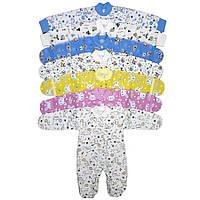 Комбинезон для новорожденных теплый (начес)