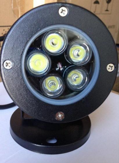 Светодиодный линзованый грунтовой светильник LM979 5W 6500К IP65 Код.59775
