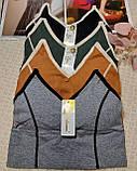 ТП2026 Женский универсальный топ разные цвета, фото 5