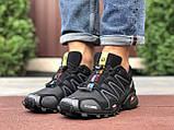Кросівки чоловічі для бігу і залу Salomon Speedcross 3,чорні, фото 4