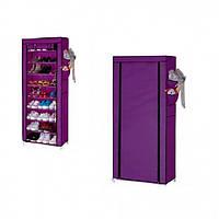 Органайзер для хранения обуви Compages Shoes Shelf T-1099 на 9 секций Фиолетовый