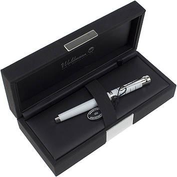 """Ручка роллер """"Waldmann"""" Tango,біла №W0014"""