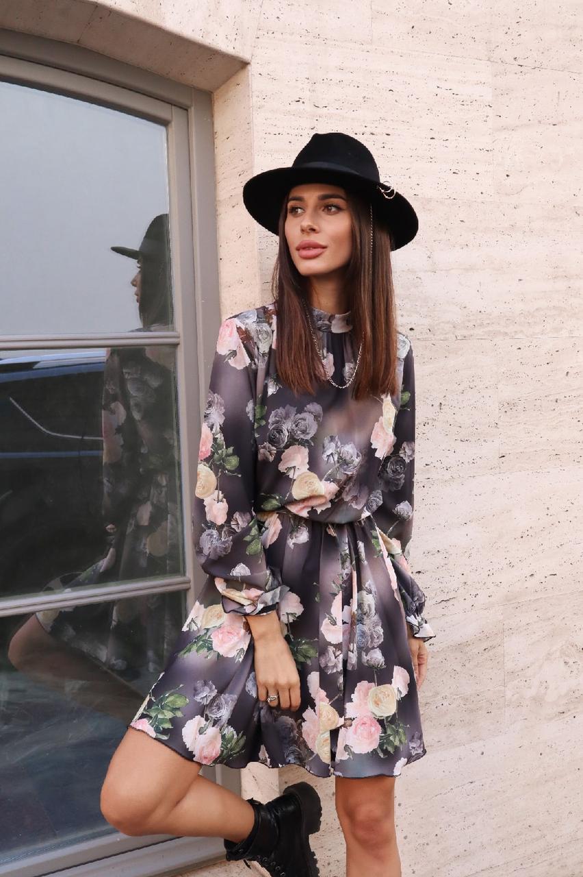 Восхитительное цветочное платье