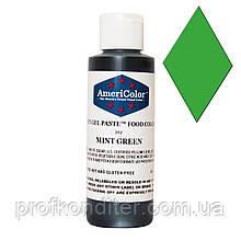 Гелевый краситель Америколор Зеленая мята, вес 128 грамм