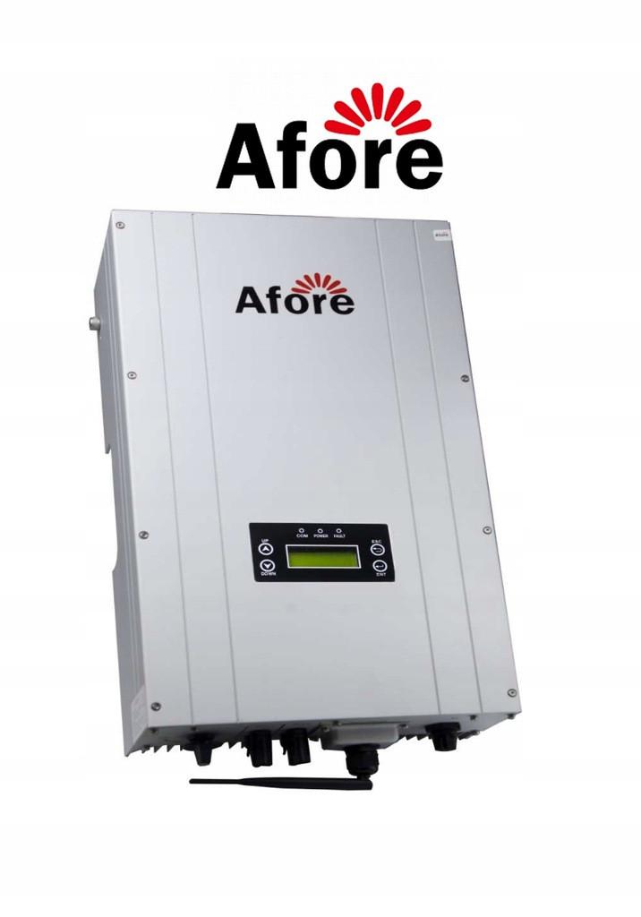 Сетевой трёхфазный бестрансформаторный инвертор Afore BNT006KTL 6 кВт 3-х фазный 2 МРРТ
