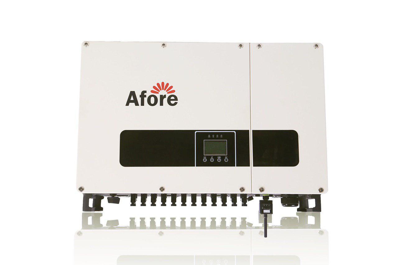 Сетевой трёхфазный бестрансформаторный инвертор Afore BNT060KTL 60 кВт 3-х фазный 3 МРРТ с WiFi модулем