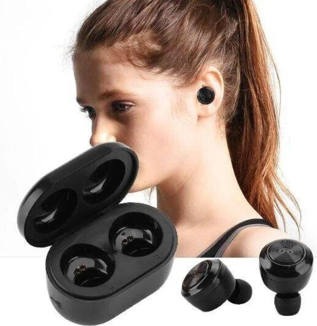 Бездротові Bluetooth навушники вакуумні Air Twins A6 TWS гарнітура з боксом для зарядки