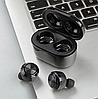 Бездротові Bluetooth навушники вакуумні Air Twins A6 TWS гарнітура з боксом для зарядки, фото 3