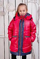 Пальто зимние детское для девочки Полина
