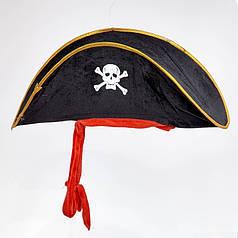Шляпа Пират мягкая