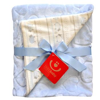 """Мягкое одеяло для ребенка в светлых тонах """"bobobaby"""""""