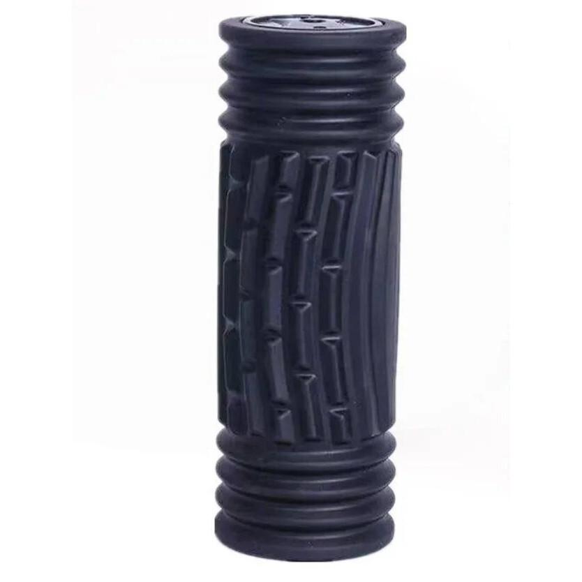 Массажный ролик для йоги Yoga Pillar Черный