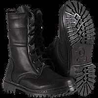 Ботинки Берцы НАТО демисезонные кожаные цвет черный с 36 по 44